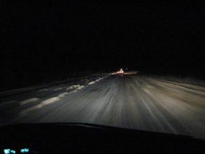 Как ездить ночью на авто